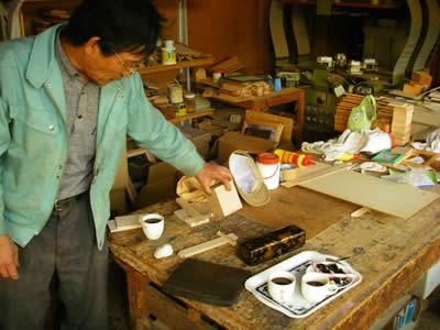 熊本の帰りに福岡の木工所に寄りました
