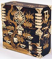 紫檀製重箪笥 江戸時代 国立博物館蔵