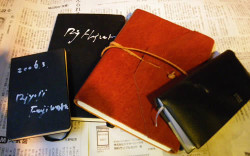 アイデアを書き止めるためのスケッチ帳です。